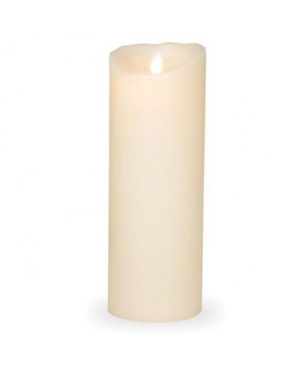 Bougie LED Sompex, en cire véritable