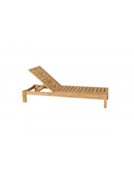 Bain de soleil Valteck, chaise longue, les Jardins