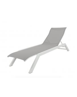 Bain de soleil Amaka, chaise longue, Les jardins