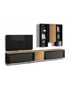 Composition Quartz, meuble TV, Munari