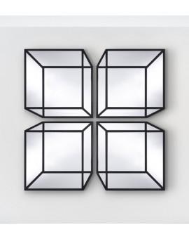 Deknudt miroir - Delusion - illusion d'optique
