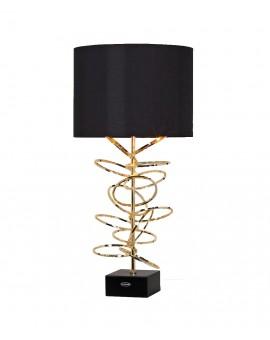 Lampe AUREAS, anneaux dorés, K Lighting