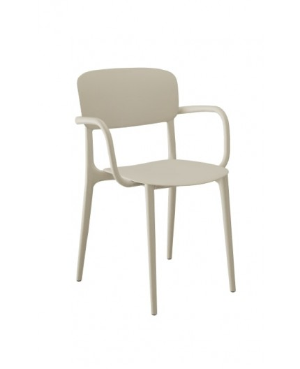Chaise Liberty Accoudoirs Calligaris