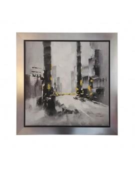 Tableau ambiance urbaine peinture acrylique