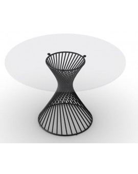 Table ronde Vortex calligaris