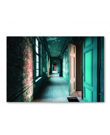 magik  corridor toile imprimé sur du plexi CM création