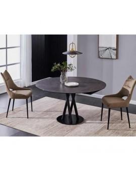 table Sara Extensible, plateau céramique