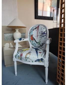 fauteuil cabriolet Louis XVI Christian LACROIX