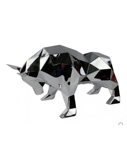 taureau objet décoration polyrésine