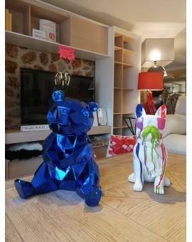 ourson objet décoration polyrésine