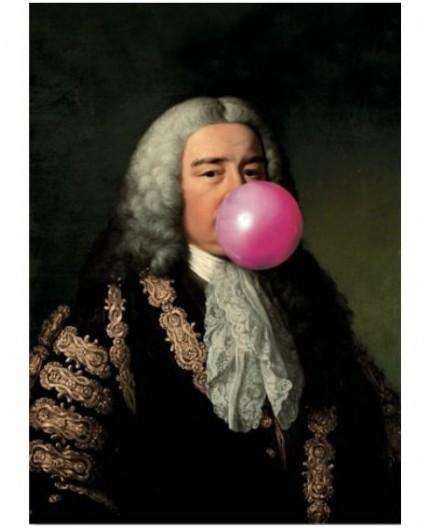 tableau cm création plexiglass bubble-gum baroque