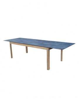 Table Tekura, table extensible, Les jardins