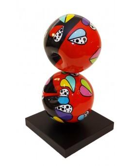 """Déesse Sculptures - LES FRUITS """" Deux pommes espérance"""""""