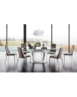 table orbital, t able extensible, calligaris,