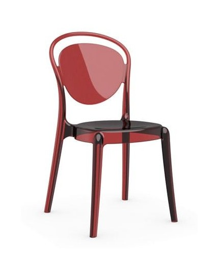 Chaise PARISIENNE ROUGE